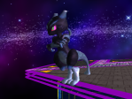 Mephiles the Dark-Mewtwo